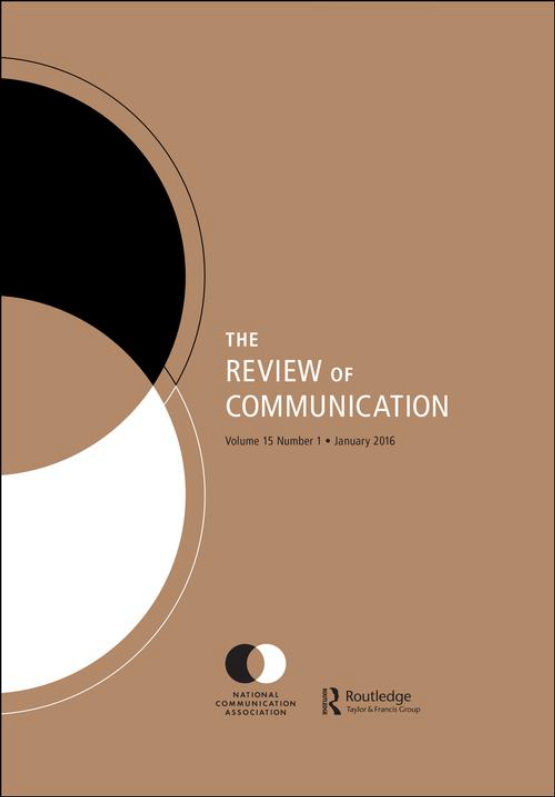 Cover image - Review of Communication