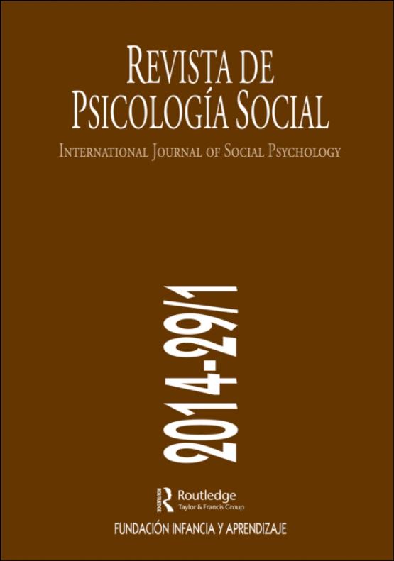 Cover image - International Journal of Social Psychology