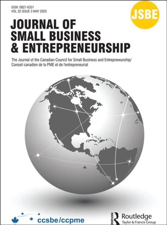 Cover image - Journal of Small Business & Entrepreneurship