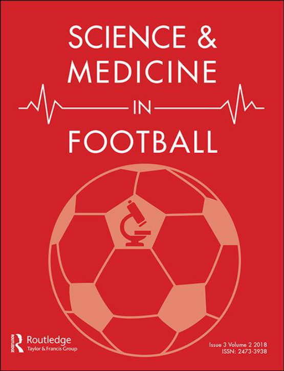 Cover image - Science and Medicine in Football