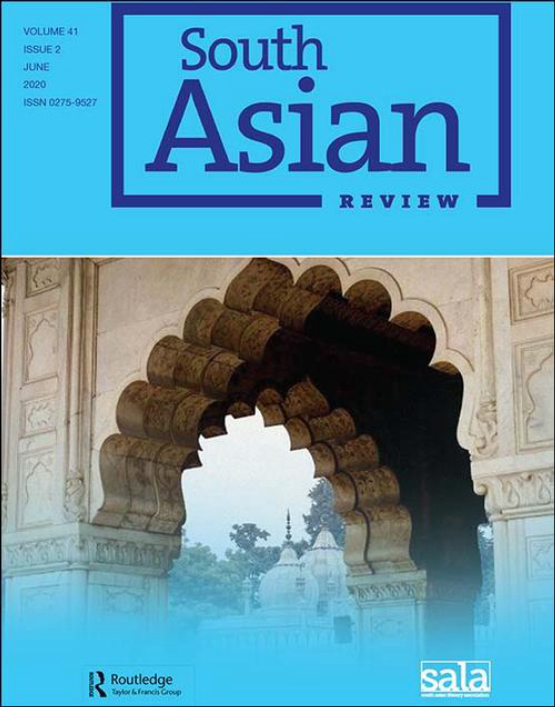 Cover image - South Asian Review