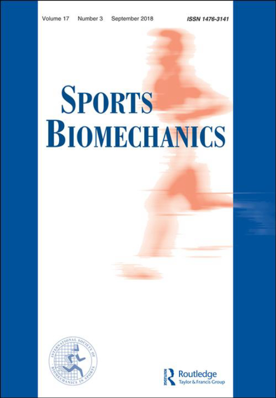 Cover image - Sports Biomechanics