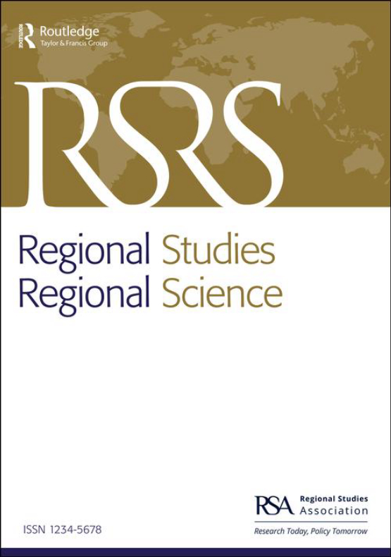 Cover image - Regional Studies, Regional Science