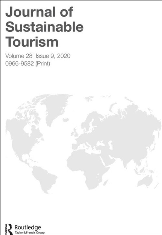 Cover image - Journal of Sustainable Tourism