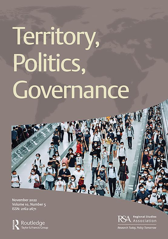 Cover image - Territory, Politics, Governance