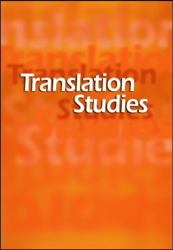 Cover image - Translation Studies