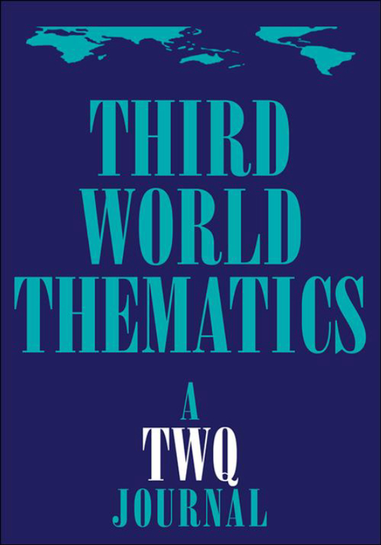 Cover image - Third World Thematics: A TWQ Journal