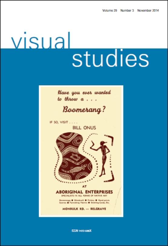 Cover image - Visual Studies