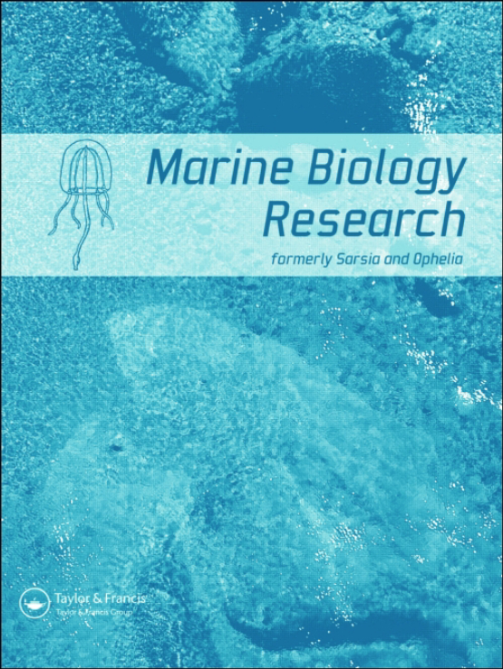 Cover image - Marine Biology Research