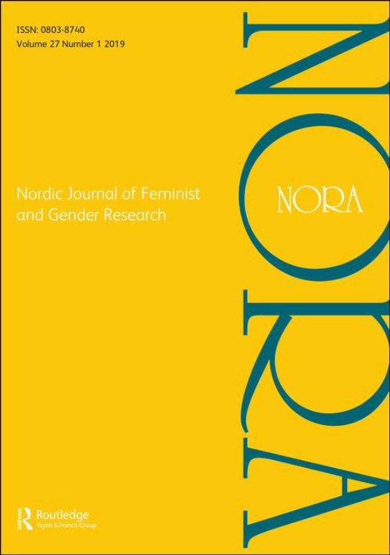 Cover image - NORA - Nordic Journal of Feminist and Gender Research