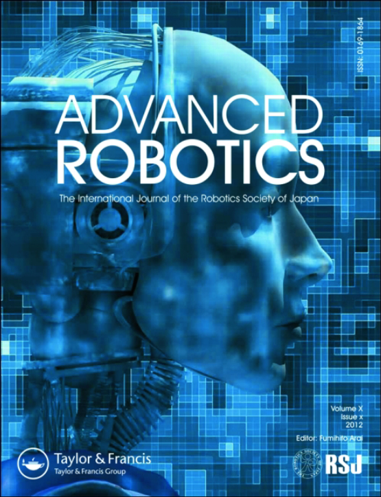 Cover image - Advanced Robotics
