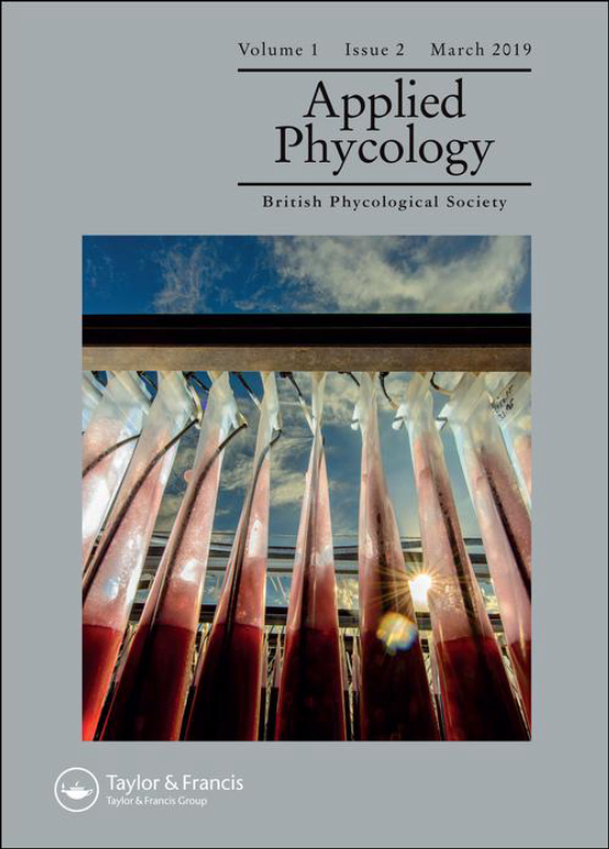 Cover image - Applied Phycology