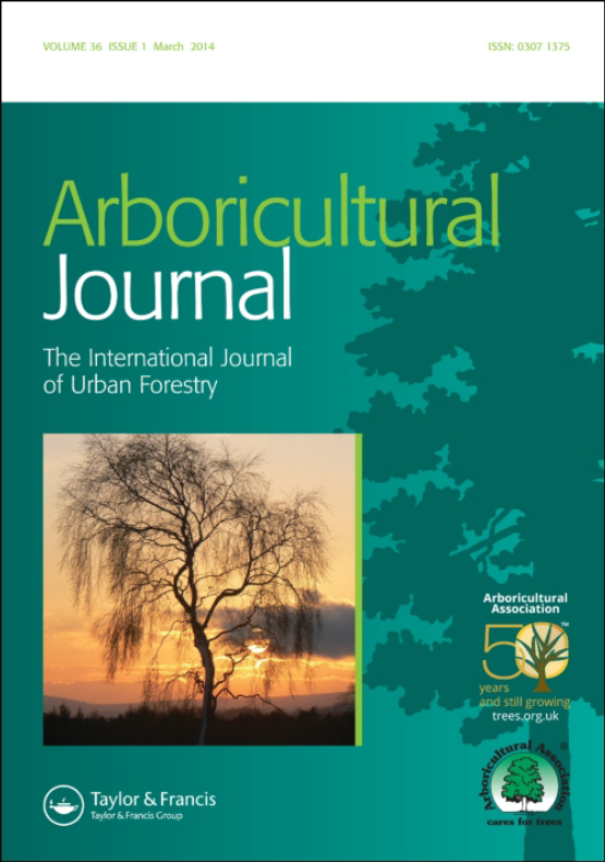 Cover image - Arboricultural Journal