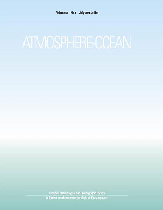 Cover image - Atmosphere-Ocean