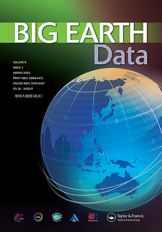 Cover image - Big Earth Data