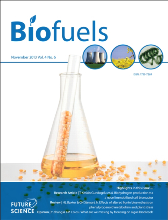 Cover image - Biofuels