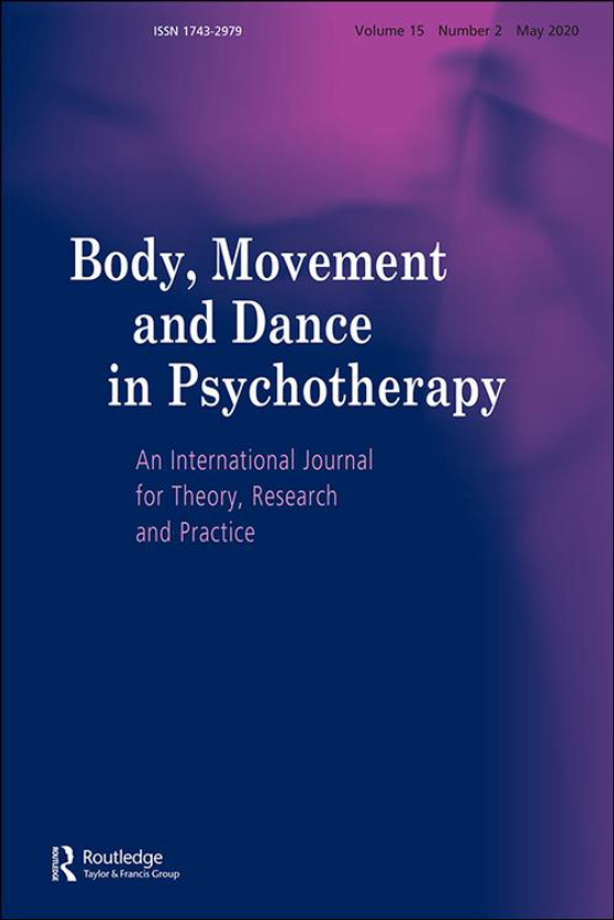 Cover image - Body, Movement and Dance in Psychotherapy