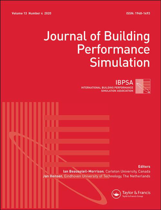 Cover image - Journal of Building Performance Simulation