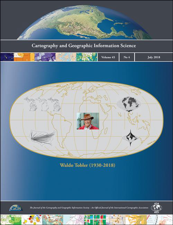 Cover image - Cartography and Geographic Information Science