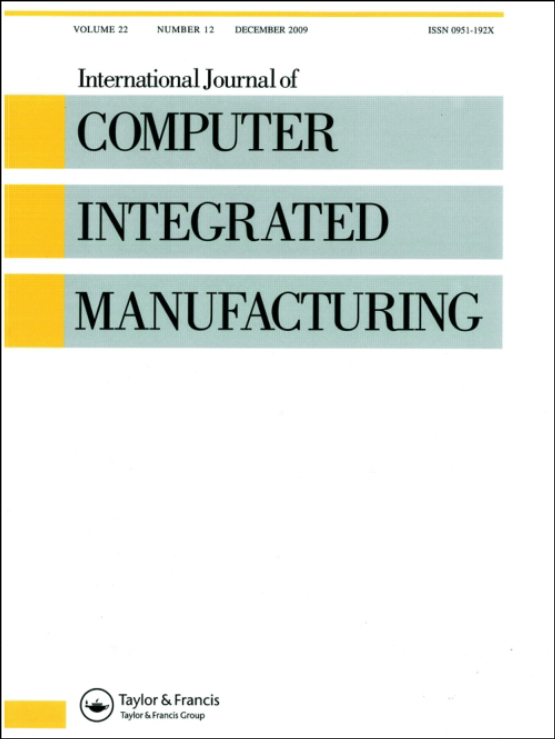 Cover image - International Journal of Computer Integrated Manufacturing