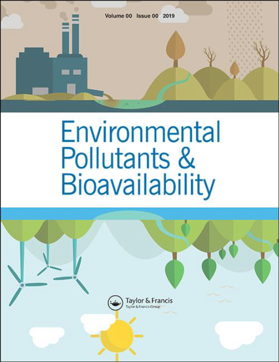 Cover image - Environmental Pollutants and Bioavailability
