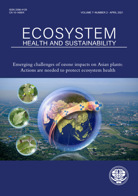 Cover image - Ecosystem Health and Sustainability