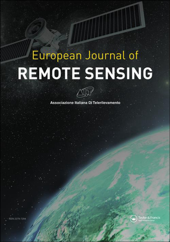 Cover image - European Journal of Remote Sensing
