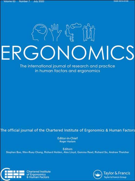 Cover image - Ergonomics