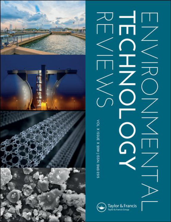 Cover image - Environmental Technology Reviews