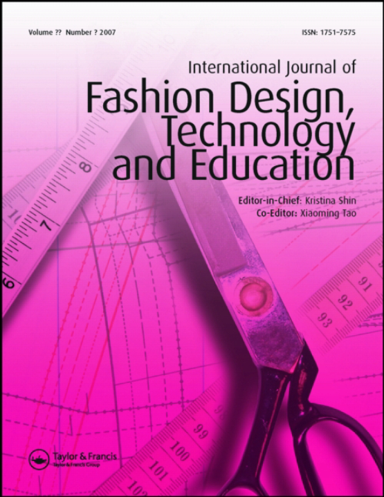 Cover image - International Journal of Fashion Design, Technology and Education