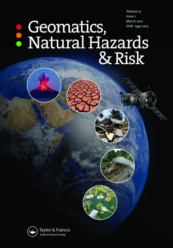 Cover image - Geomatics, Natural Hazards and Risk