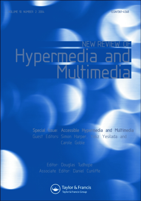 Cover image - New Review of Hypermedia and Multimedia