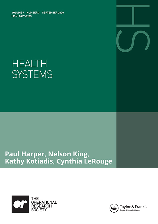 Cover image - Health Systems