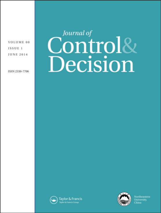 Cover image - Journal of Control and Decision