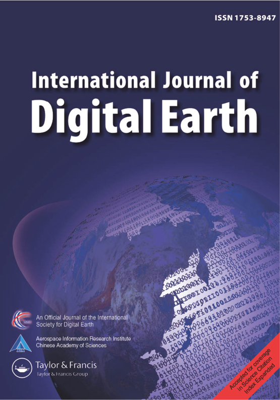 Cover image - International Journal of Digital Earth
