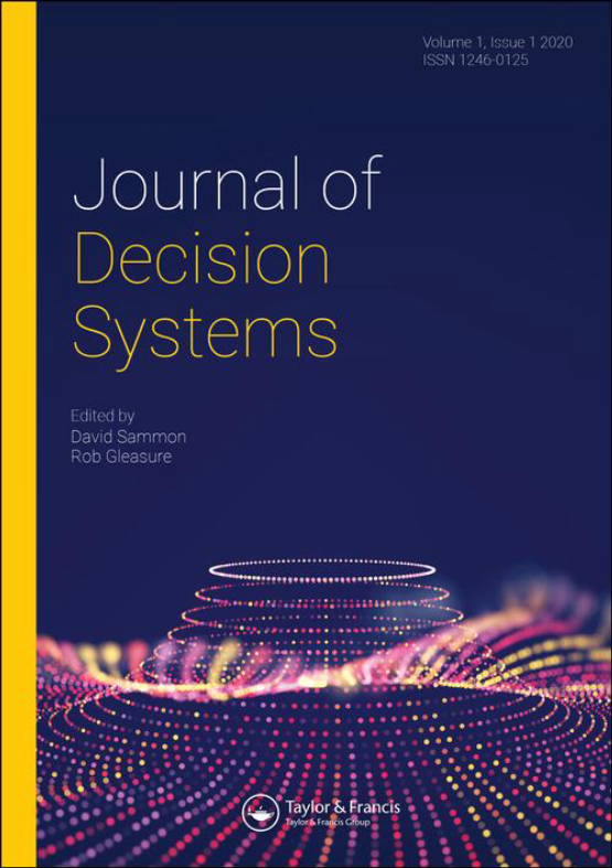 Cover image - Journal of Decision Systems