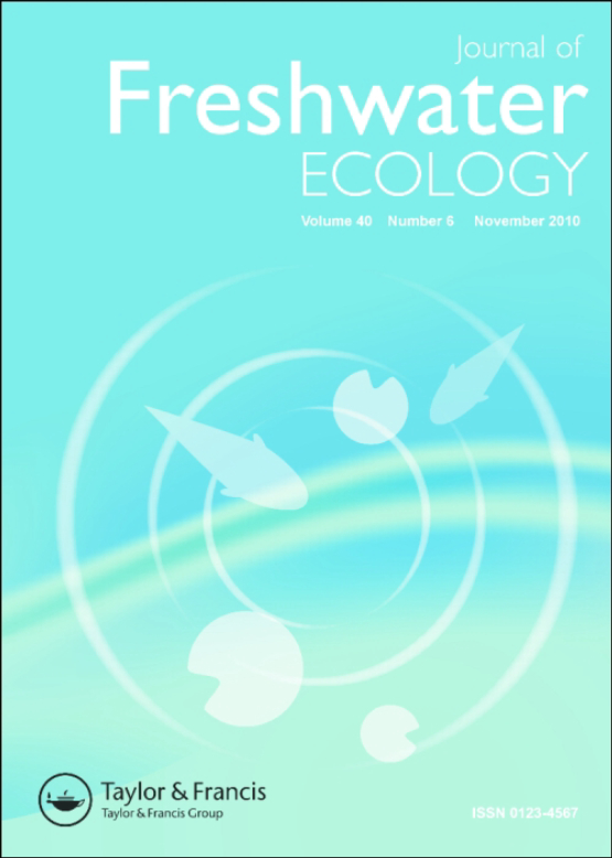 Cover image - Journal of Freshwater Ecology