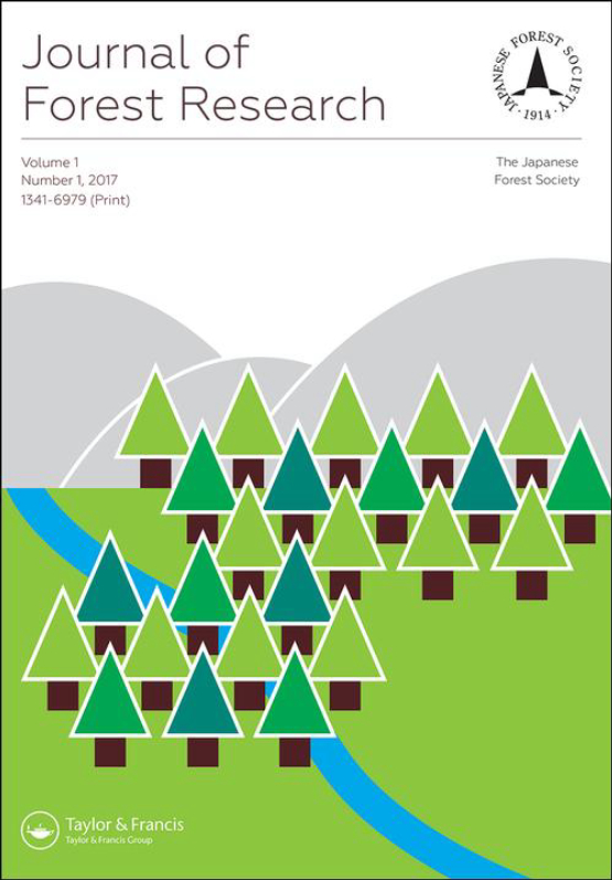 Cover image - Journal of Forest Research