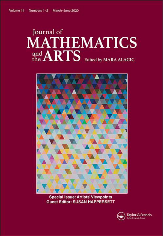 Cover image - Journal of Mathematics and the Arts