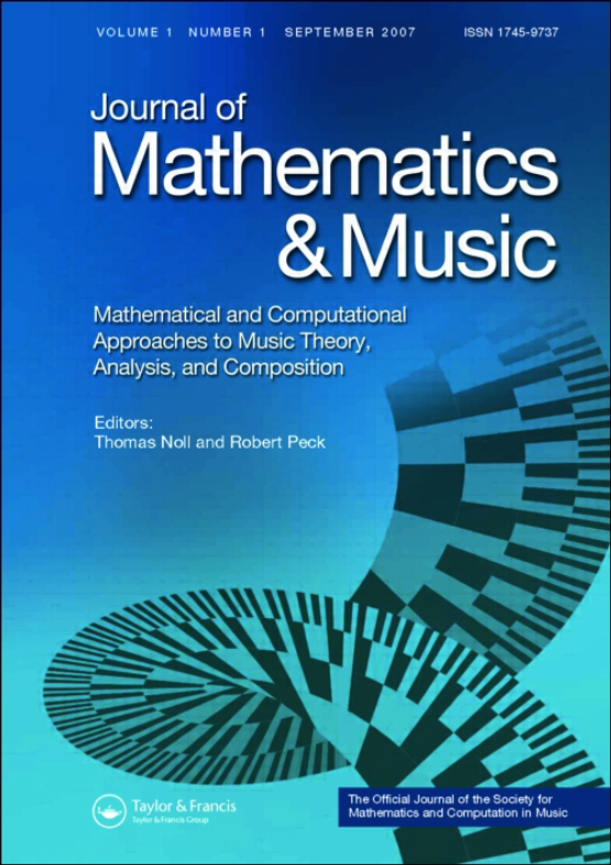 Cover image - Journal of Mathematics and Music
