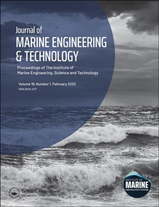 Cover image - Journal of Marine Engineering & Technology
