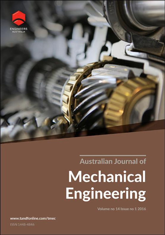 Cover image - Australian Journal of Mechanical Engineering