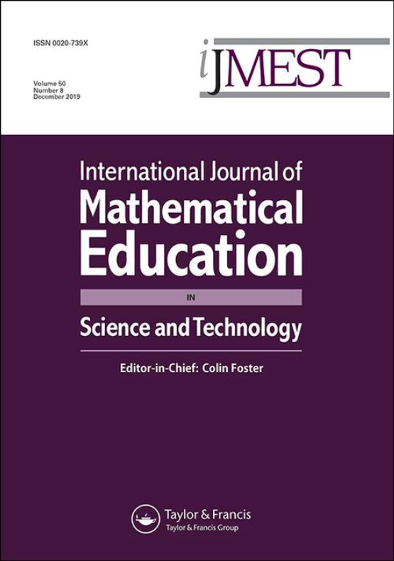 Cover image - International Journal of Mathematical Education in Science and Technology