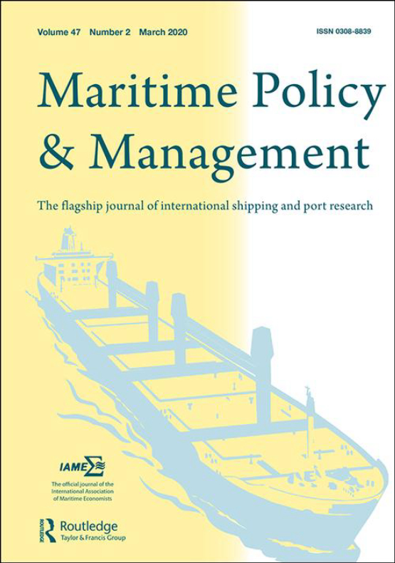 Cover image - Maritime Policy & Management