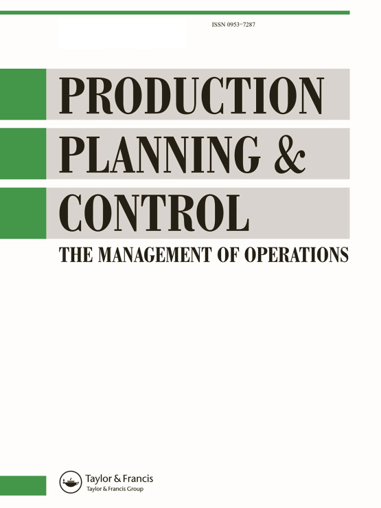 Cover image - Production Planning & Control