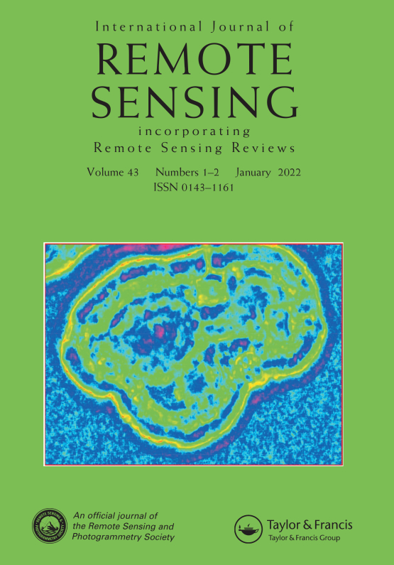 Cover image - International Journal of Remote Sensing