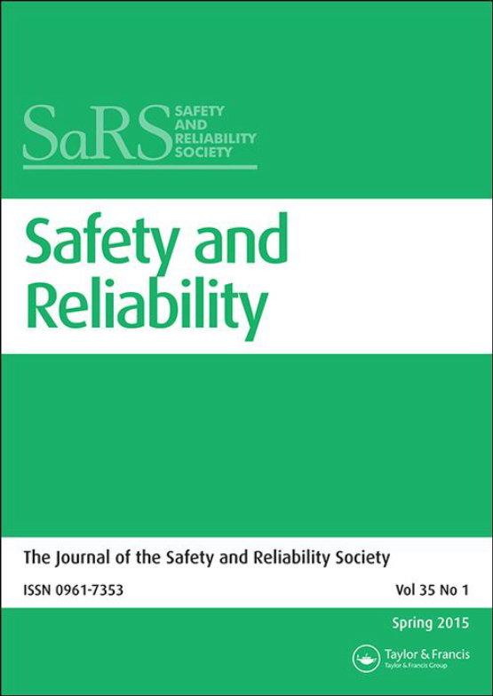 Cover image - Safety and Reliability