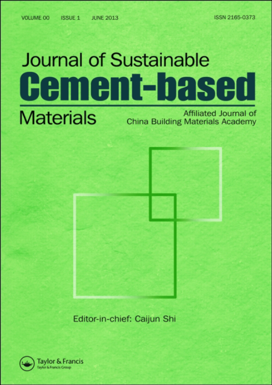 Cover image - Journal of Sustainable Cement-Based Materials