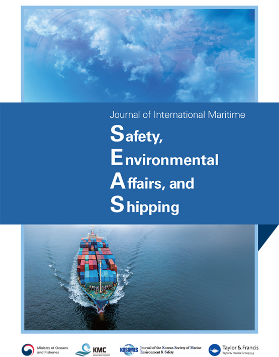 Cover image - Journal of International Maritime Safety, Environmental Affairs and Shipping
