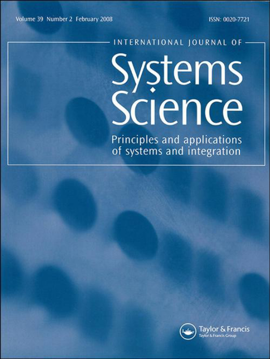 Cover image - International Journal of Systems Science